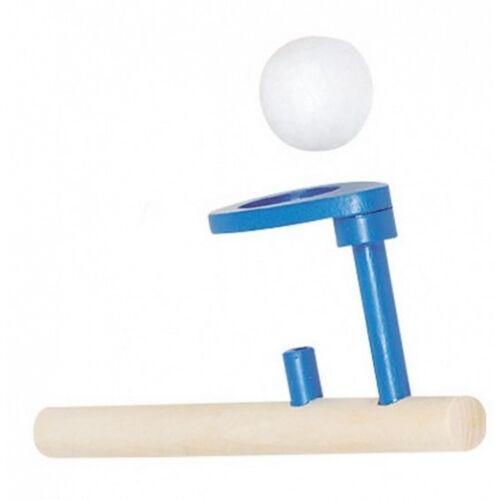 Goki schwimmende Holzball: 15 x 5 cm blau