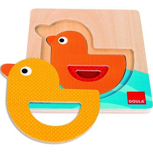 Goula puzzle Eend junior Holz 3 Teile