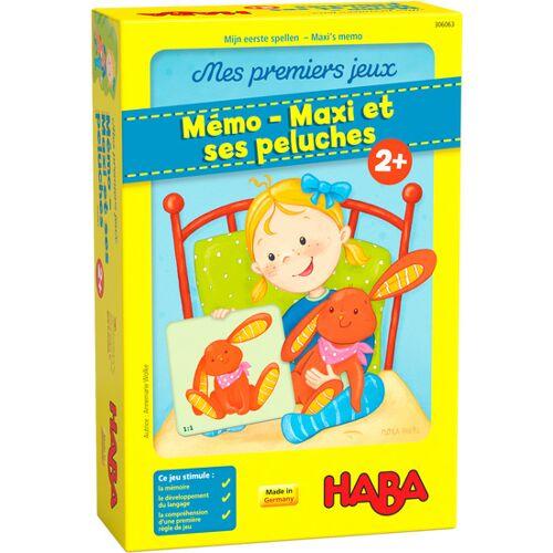 Haba denkspiel Meine ersten Spiele Maxi's memo junior (FR)