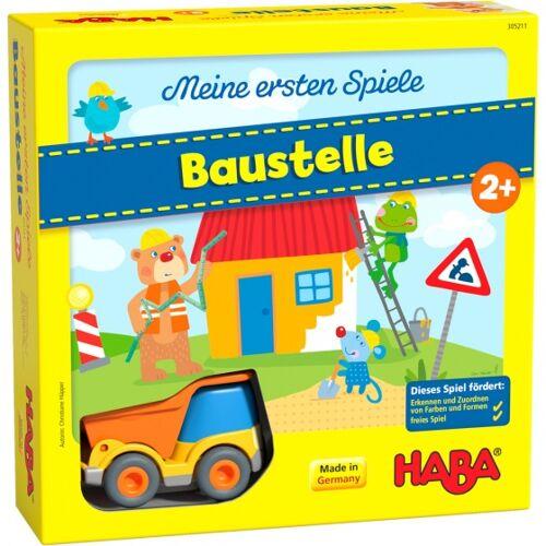 Haba kinderspiel Mijn eerste spellen  Baustelle (DU)