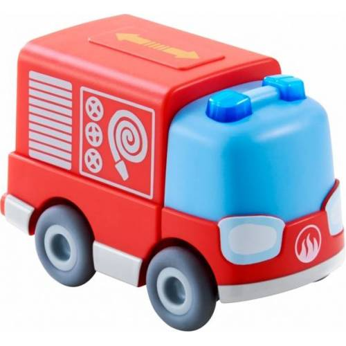 Haba Spielplatz Feuerwehrauto Kullerbü rot