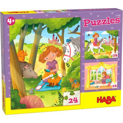 Haba puzzle Prinzessin Valerie junior 20 x 25 cm Karton 3 teilig