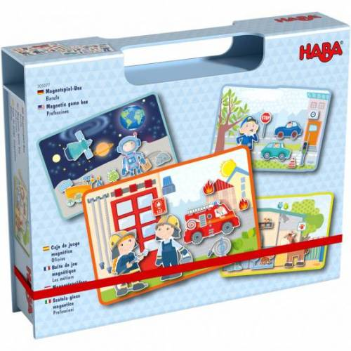 Haba magnetischer Puzzlesatz Berufe Junior 76 Teile