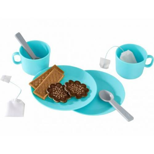 Haba geschirr Tea Party junior 12 cm blau 10 teilig