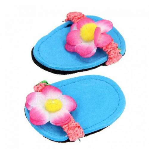 Heless puppen Flip Flops für Puppen von 28 35 cm blau