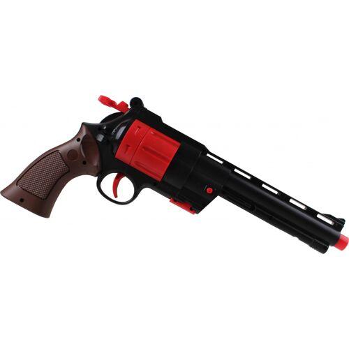 Jonotoys spielzeugrevolver mit Munition 35 cm schwarz