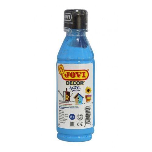 Jovi acrylfarbe Decor 250 ml Junior Acryl blau