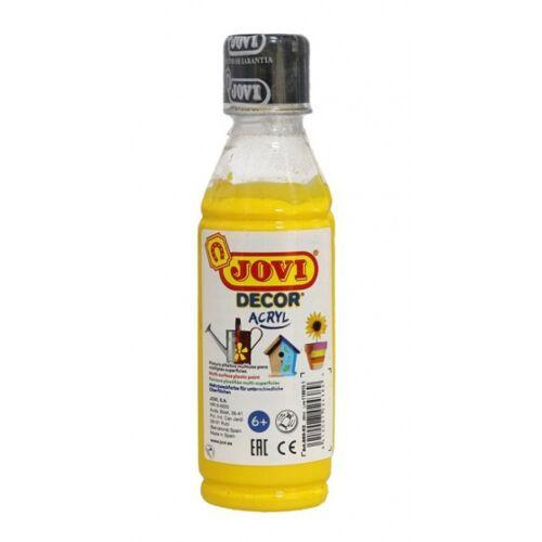 Jovi acrylfarbe Decor 250 ml Junior Acryl gelb