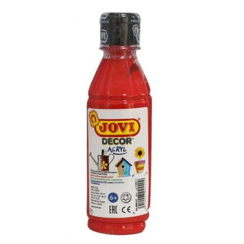 Jovi acrylfarbe Decor 250 ml Junior Acryl rot