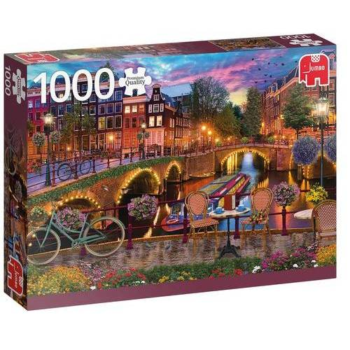 Jumbo puzzle Amsterdamse Grachten 1000 Teile
