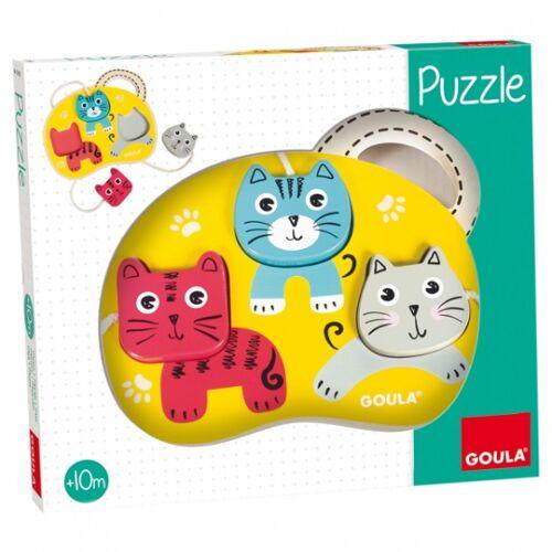 Jumbo Formpuzzle Drei Katzen