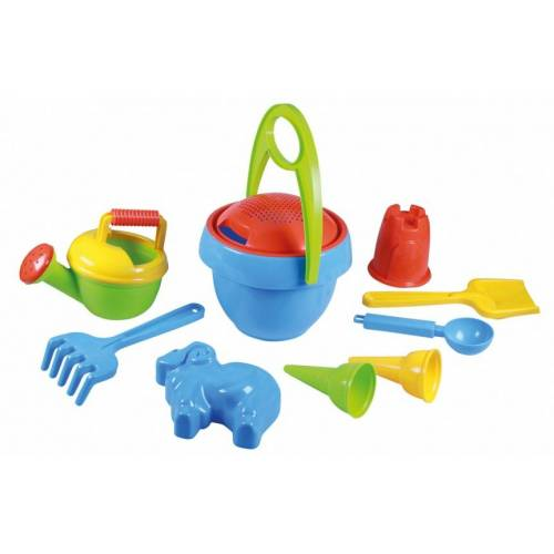 Lena sandkastenspielzeug Set Happy Sand10 teilig Jungen
