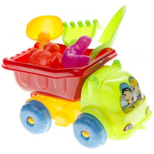 LG Imports strandspielzeug LKW Junior 15 cm 6 teilig