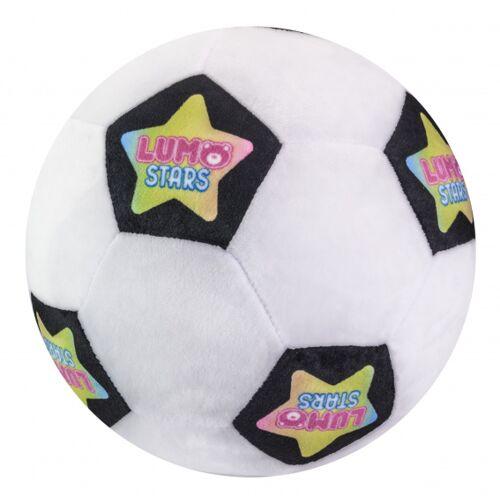 Lumo Stars stofftier Ball Soccer Ball 24 cm Plüsch weiß/schwarz