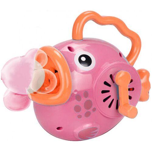 Luna seifenblasenmaschine Happy Fish 23 x 9 x 17 cm rosa