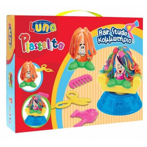Luna clay Set Friseur 11 teilig