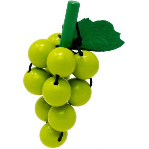 Mamamemo traube mit Holztrauben 10 cm grün