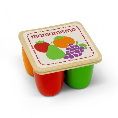 Mamamemo Mini Joghurt Holz 7 cm