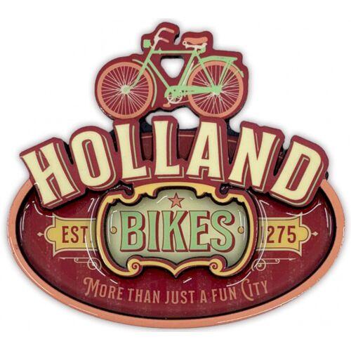 Matix magnet Holland Fahrräder MDF Fahrräder rot