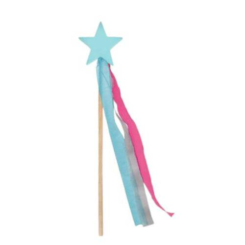 Moses zauberstab junior 32,5 x 7 cm Holz blau