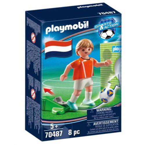 Playmobil Sport & Action: Fussballspieler Niederlande (70487)