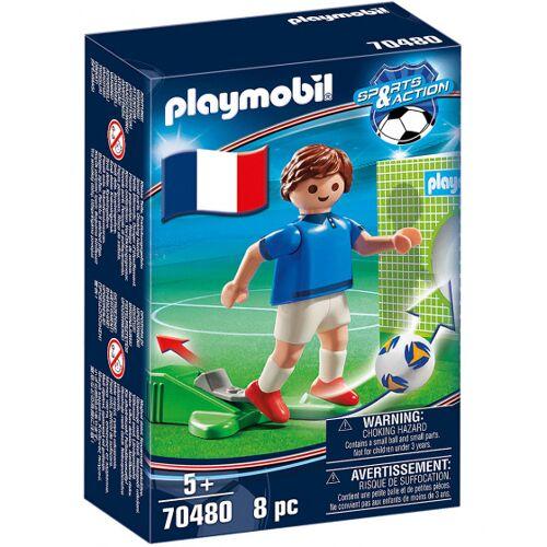 Playmobil fussballspieler Frankreich A Junioren 8 teilig