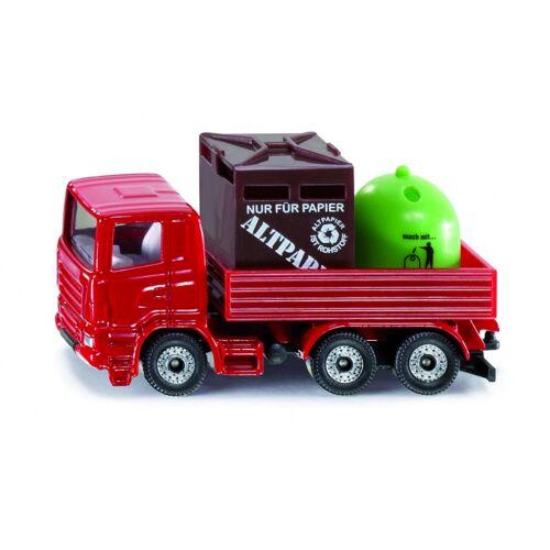 Siku Recycling LKW rot (0828)