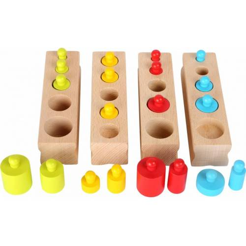 Small Foot Puzzle Blöcke passen Holz 4 x 5 teilig