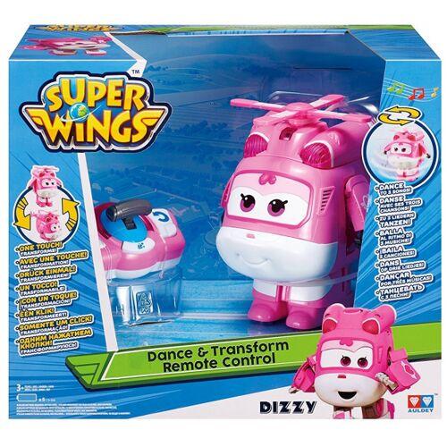 Super Wings spielzeug Flugzeug Dizzy 21 x 14,5 cm rosa