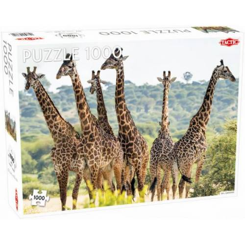 Tactic puzzle Animals giraffe 48 x 67 cm karton 1000 teile