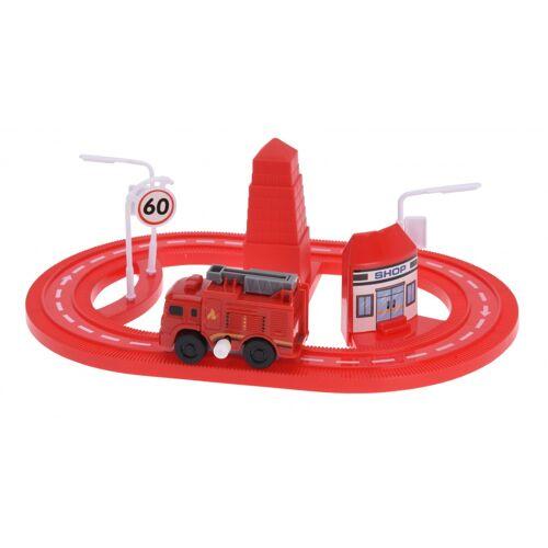 Tender Toys autobahn 7 teilig rot