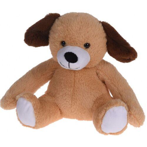 Tender Toys plüschhund junior 20 x 22 cm Plüsch braun