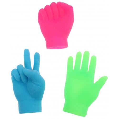 Toi-Toys Toi Toys Fingerpuppen kleine Hände blau 6,5 cm
