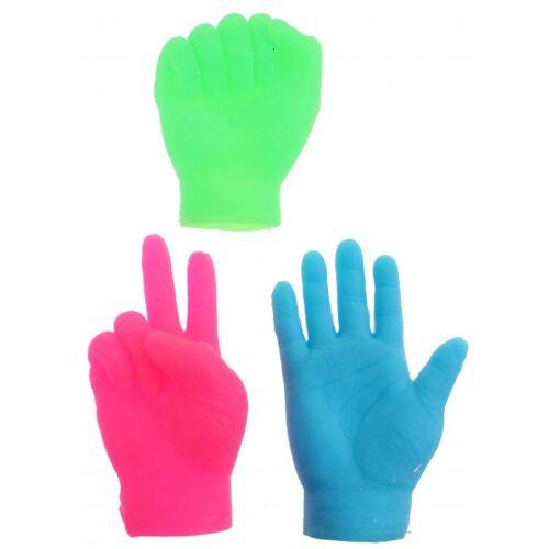 Toi-Toys Toi Toys Fingerpuppen kleine Hände rosa 6,5 cm