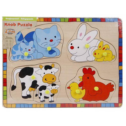 Toys Amsterdam puzzle junior 24 x 15 cm holz 9 teilig