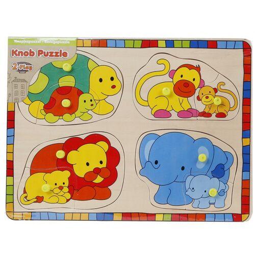 Toys Amsterdam puzzle junior 24 cm holz 9 teilig