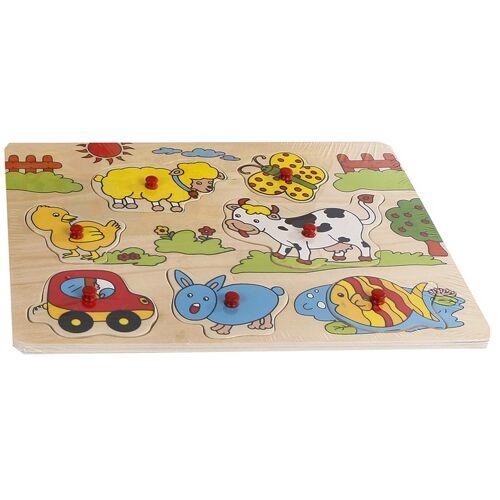 Toys Amsterdam puzzle junior 30 x 22 cm holz 8 teilig