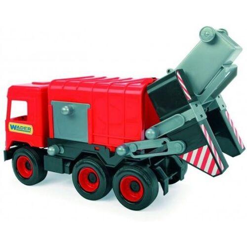 Wader spielzeug Müllwagen rot 43 cm