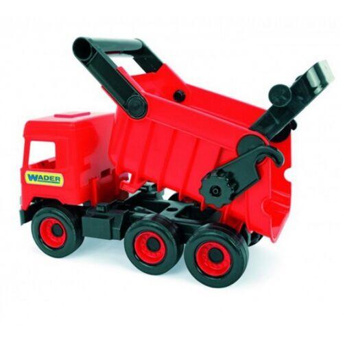 Wader Spielzeug LKW mit Kipper rot 43 cm