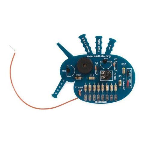Whadda audio Oszillator Kit Tasche MadLab 60 x 60 mm blau