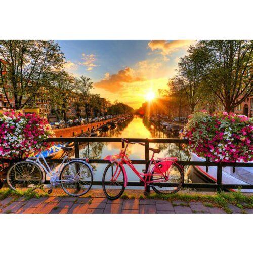 Wooden City puzzle Fahrräder aus Amsterdam Holz 300 Teile