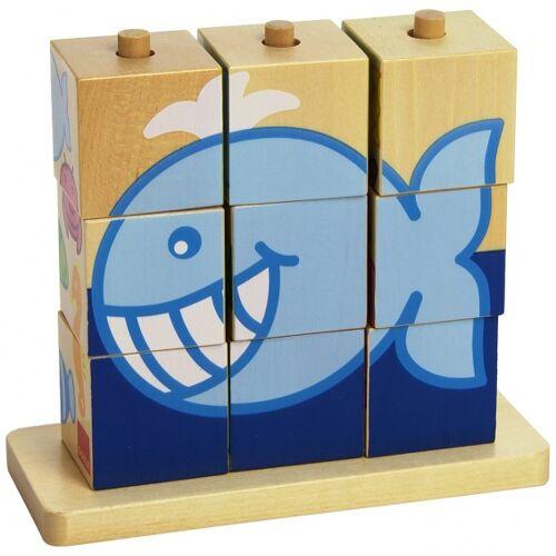 Goula blockpuzzle Zee junior Holz 9 teilig