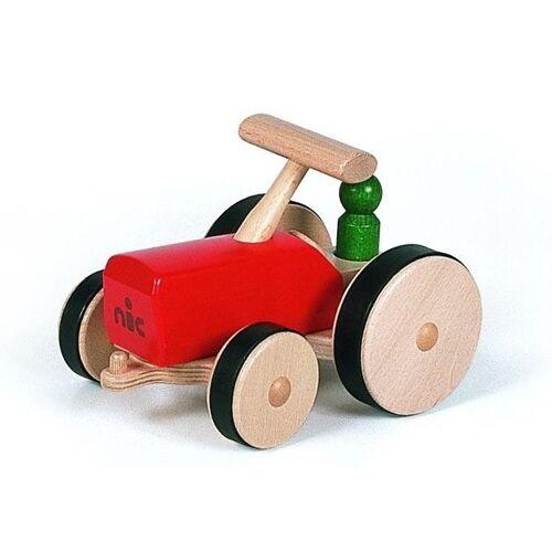 Nic traktor 27 cm Holz rot