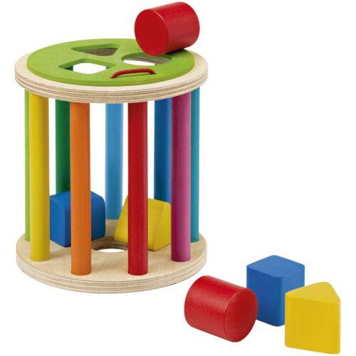 Selecta Spielzeug junior Eintopf 13 cm Holz 7 teilig