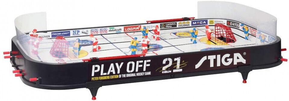 Stiga eishockeytisch Peter Forsberg 96 x 50 cm schwarz 18 Stück