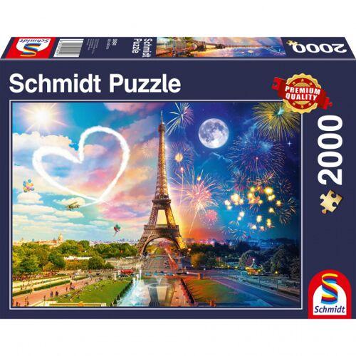 999 Games stichsäge Parijs Dag en Nacht 38,3 x 27,2 cm 2000 Teile