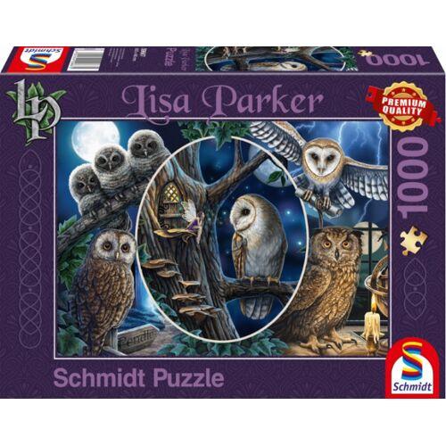 999 Games puzzle Mysteriöse Eulen 37 cm Karton 1000 Teile