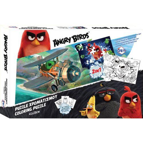 Rovio puzzle Angry Birds junior karton 24 teile