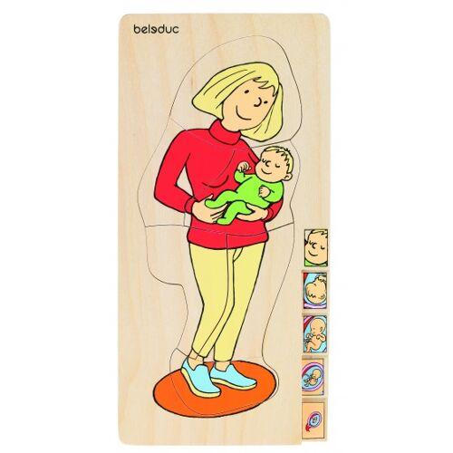 beleduc lagenpuzzle Mutter 5 Teile