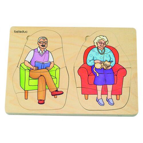 beleduc lagenpuzzle Großvater und Großmutter 40 Teile